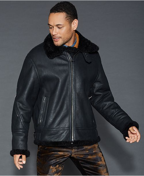 The Fur Vault Shearling Jacket