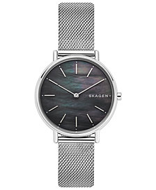 Skagen Women's Signatur Stainless Steel Mesh Bracelet Watch 36mm