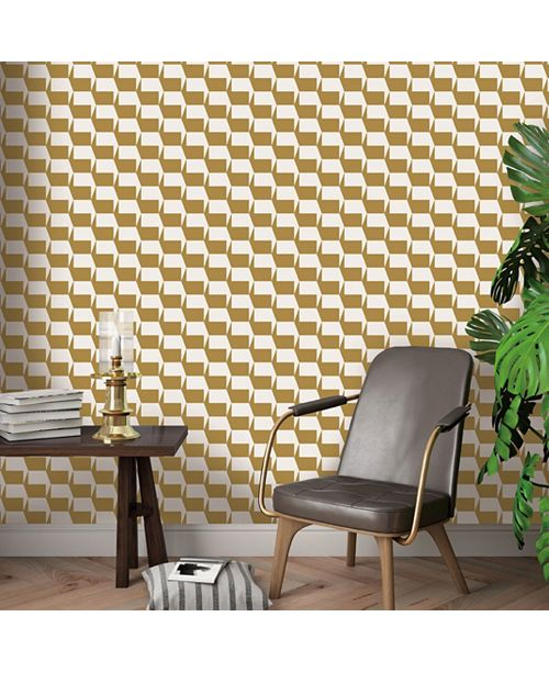 Tempaper Gio Marigold Self-Adhesive Wallpaper