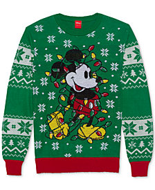 Mickey Mouse Men's Holiday Sweater