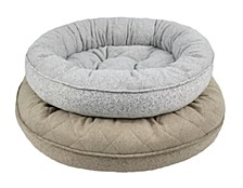 Arlee Donut Lounger and Cuddler Style Pet Bed Collection