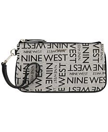 Nine West East West Signature Wristlet