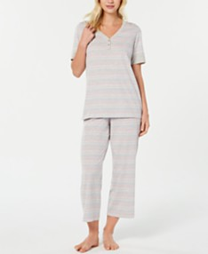 bfe06f524 Charter Club Printed Knit Pajama Set, Created for Macy's