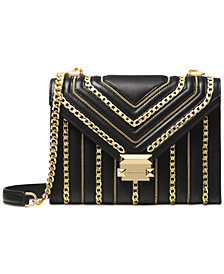MICHAEL Michael Kors Whitney Limited Edition Chain Inlay Shoulder Bag