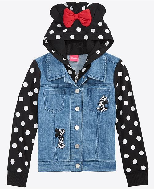 291053f8817a Disney Toddler Girls Layered-Look Denim Jacket & Reviews - Coats ...