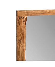"Alpine Natural Live Edge Wood 48"" Mirror"