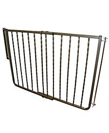 Wrought Iron Stairway Baby Gate