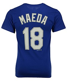Kenta Maeda Los Angeles Dodgers Official Player T-Shirt, Big Boys (8-20)