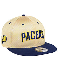 New Era Indiana Pacers Champagne 9FIFTY Snapback Cap
