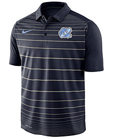 Nike Men's North Carolina Tar Heels Striped Polo