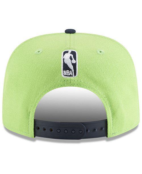 873059d57876f1 New Era Minnesota Timberwolves Retro Tail 9FIFTY Snapback Cap ...