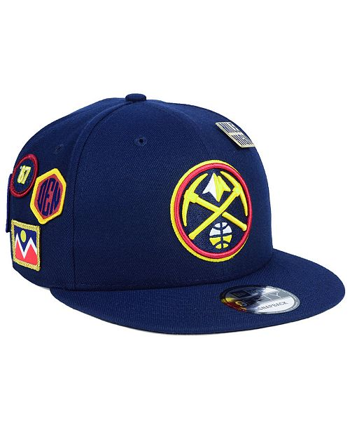 more photos afc61 f529d New Era Boys  Denver Nuggets On-Court Collection 9FIFTY Snapback Cap ...