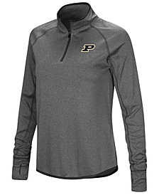 Colosseum Women's Purdue Boilermakers Shark Quarter-Zip Pullover
