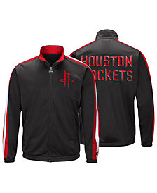 G-III Sports Men's Houston Rockets The Challenger Starter Track Jacket