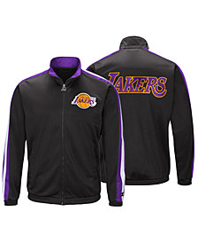 G-III Sports Men's Los Angeles Lakers The Challenger Starter Track Jacket