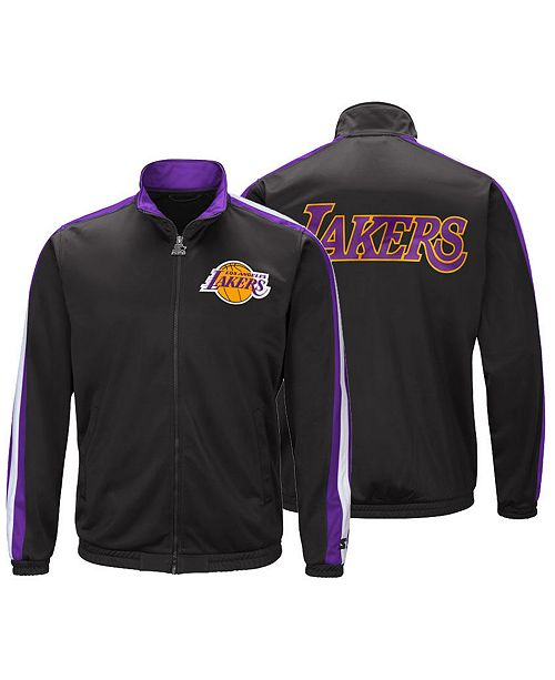 c6bb0acbf7ae ... G-III Sports Men s Los Angeles Lakers The Challenger Starter Track  Jacket ...