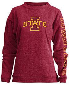 Pressbox Women's Iowa State Cyclones Comfy Terry Sweatshirt