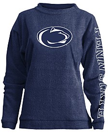 Pressbox Women's Penn State Nittany Lions Comfy Terry Sweatshirt