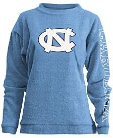 Pressbox Women's North Carolina Tar Heels Comfy Terry Sweatshirt