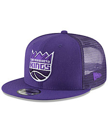New Era Sacramento Kings Almost Tonal Trucker 9FIFTY Snapback Cap