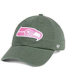 '47 Brand Women's Seattle Seahawks Moss Glitta CLEAN UP Cap