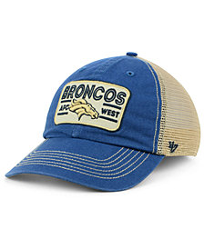 '47 Brand Denver Broncos Sallana Mesh CLEAN UP Cap