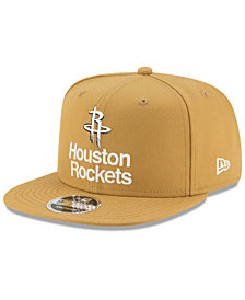 a659bce633a New Era Houston Rockets Retro Basic 9FIFTY Snapback Cap