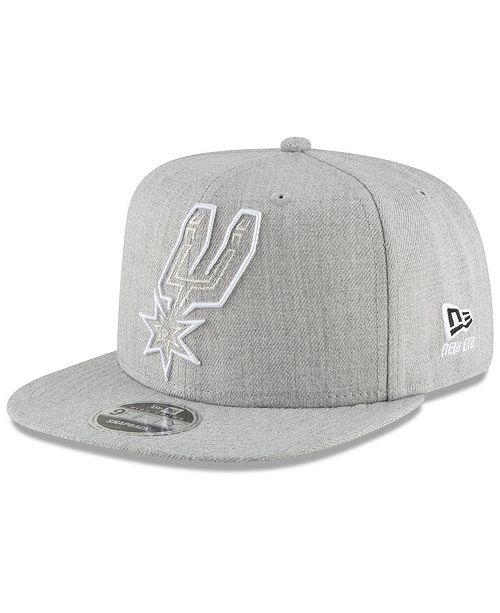 New Era San Antonio Spurs Logo Trace 9FIFTY Snapback Cap
