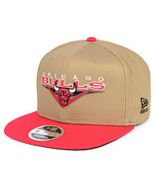 New Era Chicago Bulls Jack Knife 9FIFTY Snapback Cap