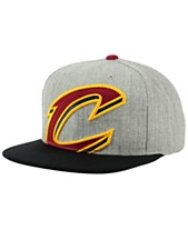 b305f8c5c45 Mitchell   Ness Cleveland Cavaliers Cropped Heather Snapback Cap