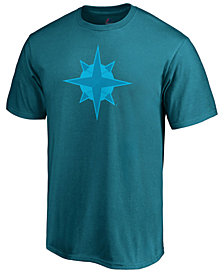 Majestic Men's Seattle Mariners Players Weekend Logo T-Shirt