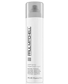 Soft Style Super Clean Light Finishing Spray, 10-oz., from PUREBEAUTY Salon & Spa