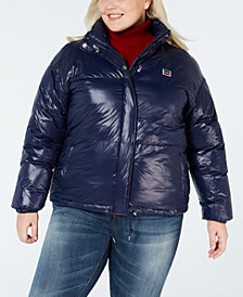 Levi's® Juniors' Plus Size Puffer Jacket