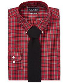 Lauren Ralph Lauren Men's Slim Fit No-Iron Dress Shirt