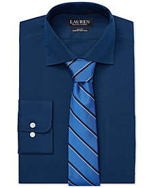 Lauren Ralph Lauren Men's Slim Fit No-Iron Dress Shirt