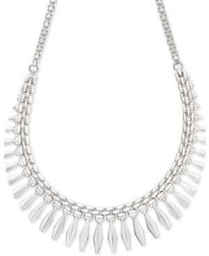 "Giani Bernini Cleopatra 18"" Statement Necklace in Sterling Silver, Created for Macy's"