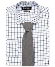 Lauren Ralph Lauren Men's Slim Fit No-Iron Estate Dress Shirt