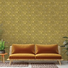 Genenieve Gorder For Brass Belly Self-Adhesive Wallpaper