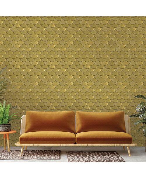 Tempaper Genenieve Gorder For Brass Belly Self-Adhesive Wallpaper