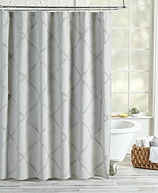 Homeworks Lattice Shower Curtain