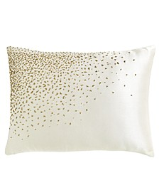 CLOSEOUT! Collection Aura 16x20 Beaded Decorative Pillow