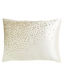 Donna Karan Collection Aura 16x20 Beaded Decorative Pillow