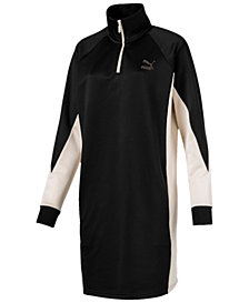 Puma Colorblocked Sweatshirt Dress