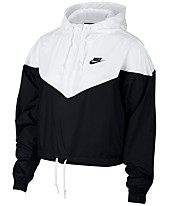 8cdc4080fae8 Nike Sportswear Cropped Hooded Windbreaker