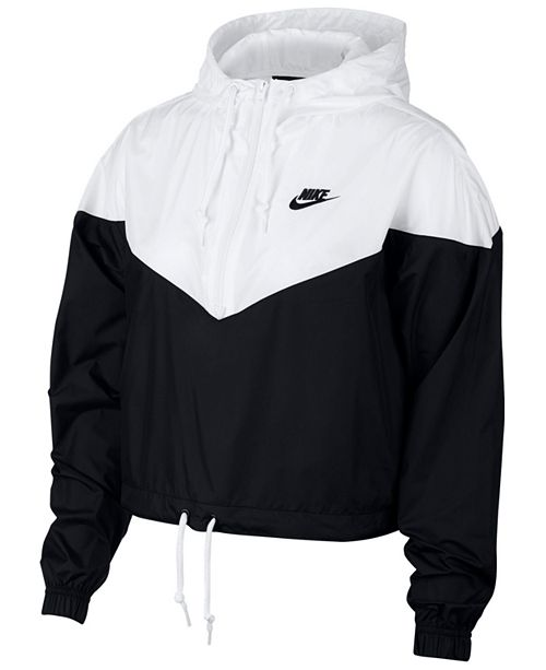 2b834d879116 Nike Sportswear Cropped Hooded Windbreaker  Nike Sportswear Cropped Hooded  Windbreaker ...