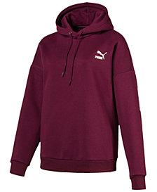 Puma Retro Logo Fleece Hoodie