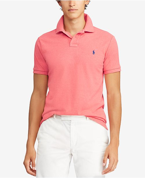 45b4e25654387 Polo Ralph Lauren Men s Classic-Fit Mesh Polo   Reviews - Polos ...