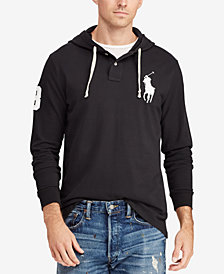 Polo Ralph Lauren Men's Mesh Cotton Hoodie, Created for Macy's