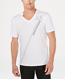 A|X Armani Exchange Men's Logo Print T-Shirt