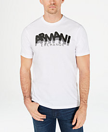 A|X Armani Exchange Men's Staggered Logo T-Shirt